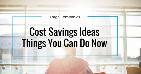 Cost savings ideas for large companies article banner
