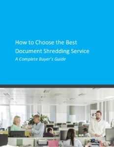 A complete buyers guide: How to Choose the best document shredding service cover