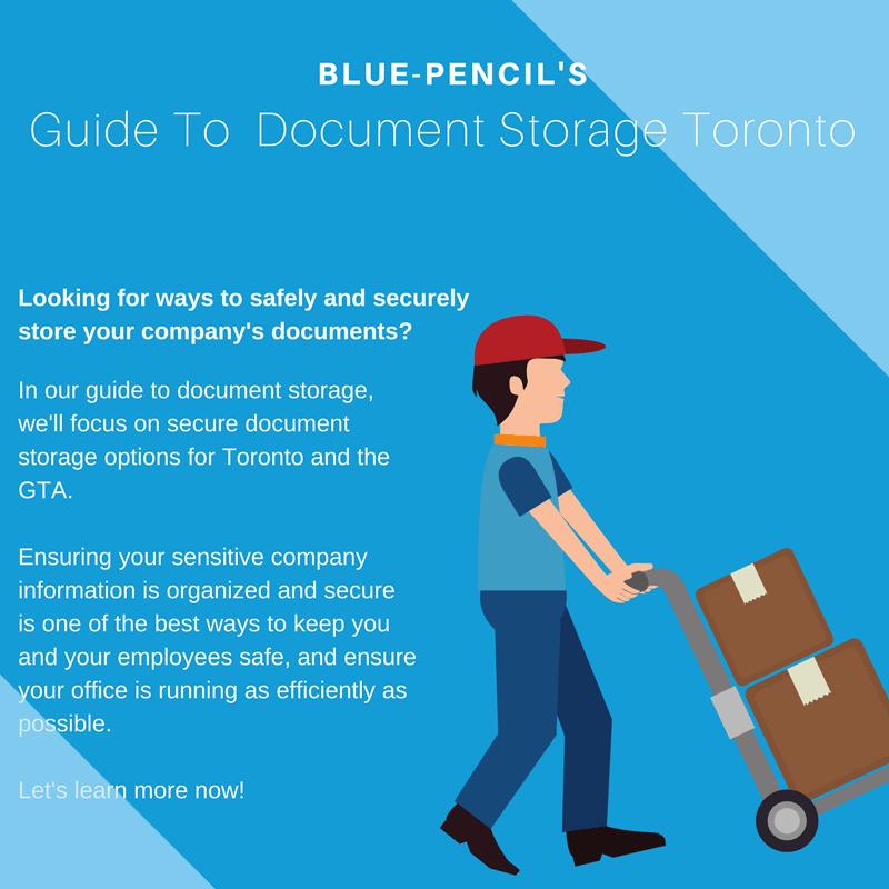 Guide to Document Storage Toronto