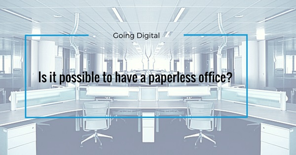 can an office be paperless banner