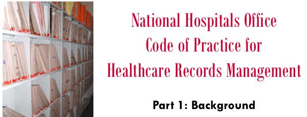 Healthcare records management - NHO