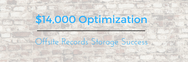 offsite records storage metric of success
