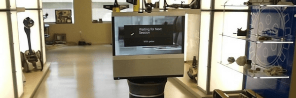 Telepresence robots for open office concepts