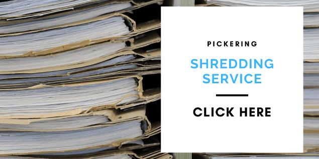 Pickering shredding service