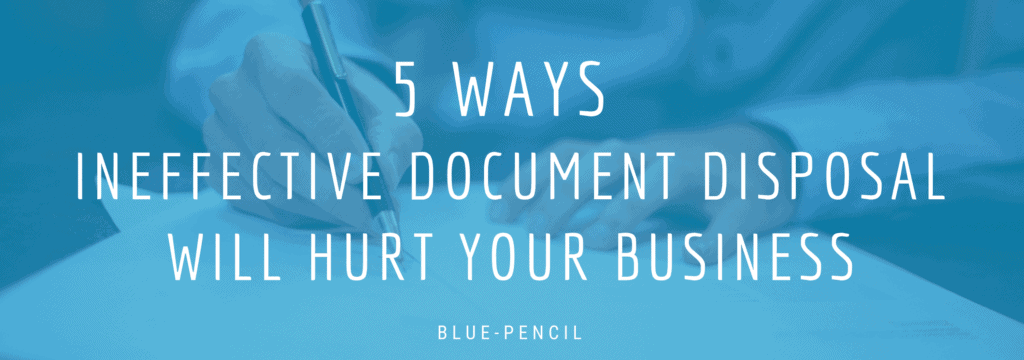 document disposal