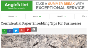 angel list article on paper shredding