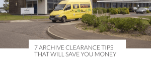 7 archive clearance tips that will save you money article screenshot