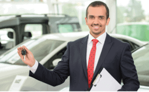 Automotive Dealer using shredding services