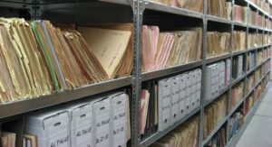 Records management policy files